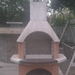 buschbeck outdoor fireplace wood burning